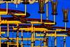 Wilde Maus (Traveller_40) Tags: blue sky danger children munich münchen parents kinder oktoberfest parent rollercoaster mm blau tamron funfair wiesn scarry freefall eltern achterbahn theresienwiese 180mm schrecklich terible tamron180mm doddler