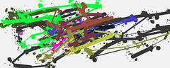 FLAVOR by ORKS | de | 9-1-2010 | mouse | 1024 x 409 (drips / action painting) Tags: art de fun mouse flavor free 13 orks 912010 f1f1f1 1024x409