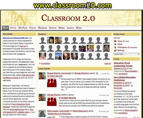 Classroom 2.0 Ning