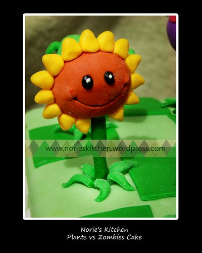 plants vs zombies sunflower. Norie#39;s Kitchen - Plant vs