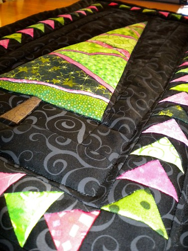 Quilted Close up