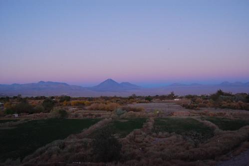 San Pedro de Atacmama at sunset
