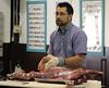 Cutting a goat carcass (baalands) Tags: goat cutting carcass chevon