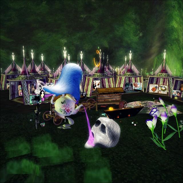 Mermaid Temple Halloween Mall