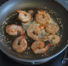 Curry Shrimp Scampi