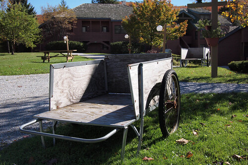 Garden Cart by Carts Vermont
