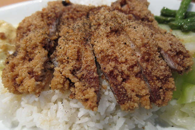 Dolphin Bay: Fried Pork Chop with Rice (#12)