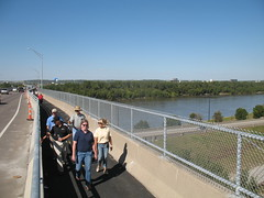 Grand Opening of the new Missouri River bike/ped path in Kansas City