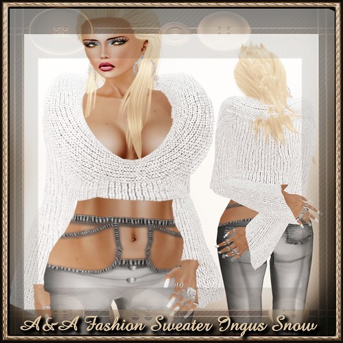 A&A Fashion Sweater Snow