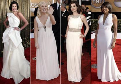vestidos longos brancos para festas