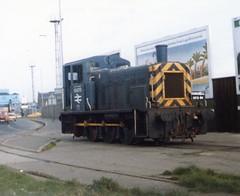 birkenhead docks 03073 (brianhancock50) Tags: train railway britishrail shunter class03