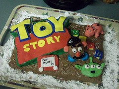 Toy Story cake. (AllTimeLorraine) Tags: music toystory random starbucks icecream alltimelow jacvanek