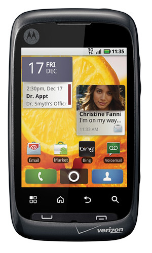 ERIZON WIRELESS AND MOTOROLA UNVEIL MOTOROLA CITRUS
