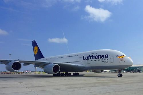 D-AIMC Airbus-380 Lufthansa