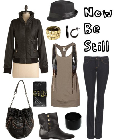 Polyvore: Now Be Still