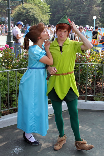 Having fun with Peter and Wendy