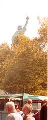 beneath liberty. (luli ~~) Tags: newyork america unitedstates twintowers statueofliberty manhatten ellisisland worldtradecentre september2000 windowsontheworld