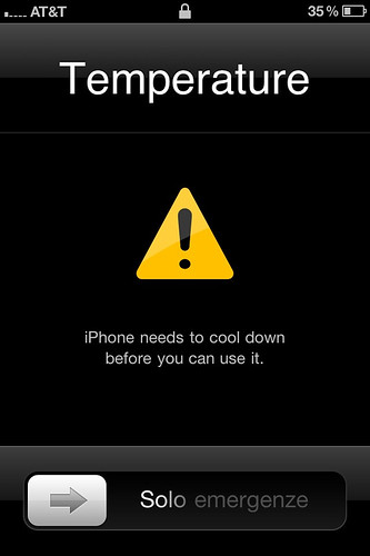 iPhone Heated Up