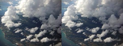 3d cloud island