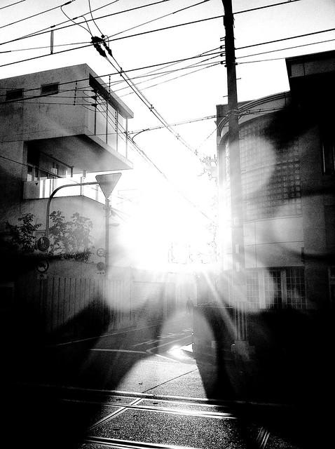 今日の写真 No.36 – 北畠の朝日/iPhone4 + Spica
