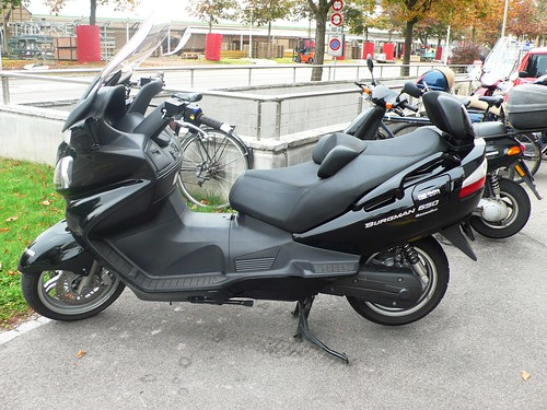 Motor bike in Solothurn