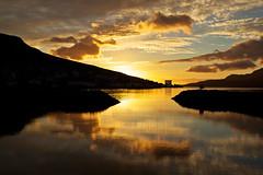 Sunrise in Fáskrúðsfjörður (*Jonina*) Tags: sky reflection clouds sunrise iceland ísland ský himinn speglun sólarupprás fáskrúðsfjörður faskrudsfjordur distinguishedpictures absolutelystunningscapes distinguishedsunrisesandsunsets jónínaguðrúnóskarsdóttir