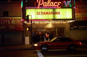 Palace Theatre marquee, Scramarama Festival, November 2001