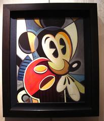cubist Mickey