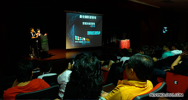 Sze Ping won the Best Photography Blog award