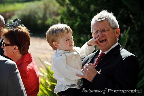 Angela&Jason's Wedding-Grandpa's red nose