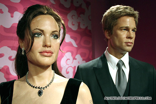 Brangelina - celebrity couple, Brad Pitt and Angelina Jolie