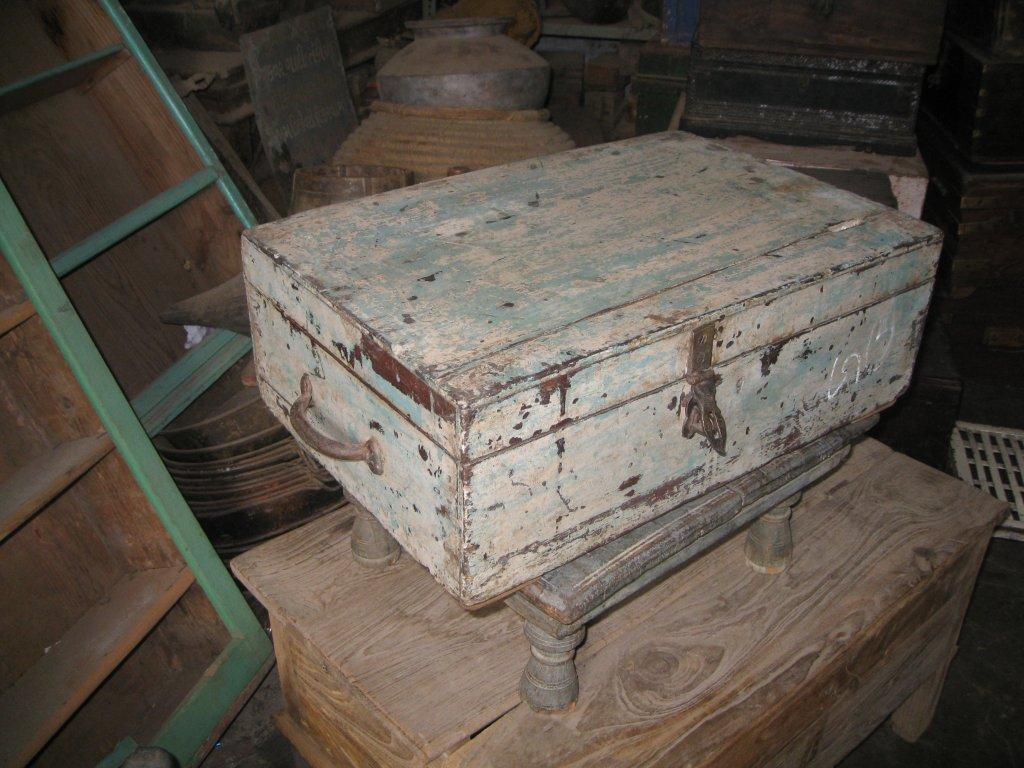Vintage Indian iron box