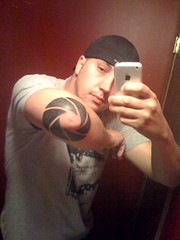 New Camera Shutter Tattoo (seerich) Tags: from camera by elbow shutter sent tmobile tatto powered 2g iphone