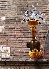 Unterwegs in Siena - die Concade der Adler, Italien