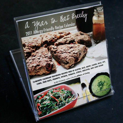 A Year to Eat Freely: 2011 Allergy-Friendly Recipe Calendar (front)