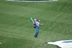 Rocketman at Kansas Speedway 2008 (Out.of.Focus) Tags: man race flying jet rocketman kansascity pack rocket jetpack kansasspeedway danschlund