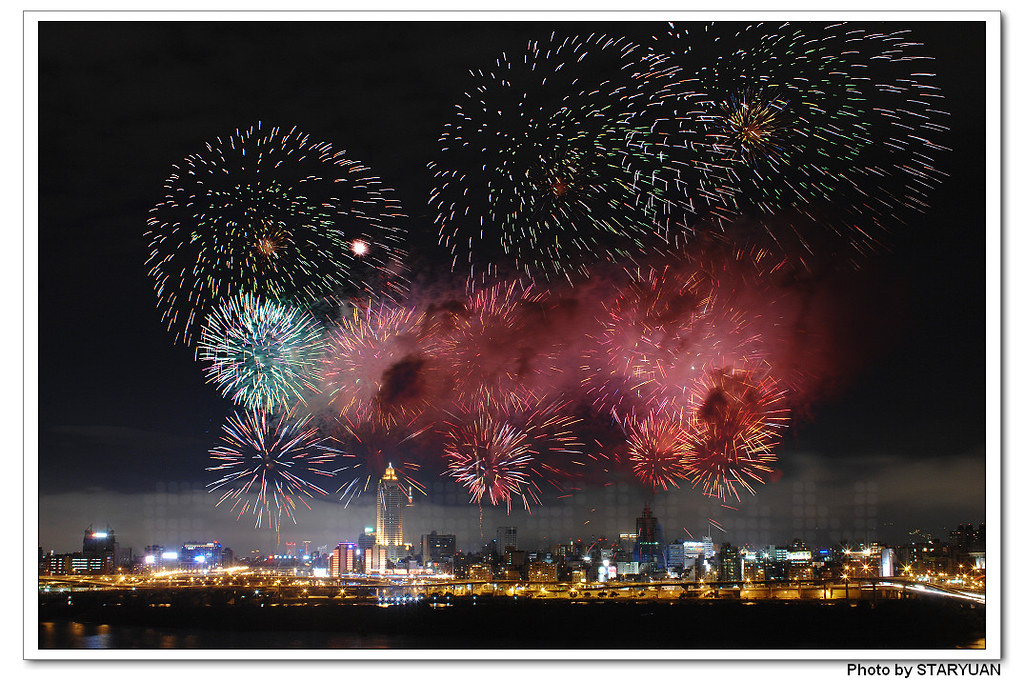 歡慶99年雙十 - 久別的國慶煙火 in Taipei