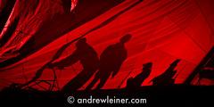 Sleepwalkers (bumbii) Tags: red black silhouette boat sailing sail 5d spinnaker balaton sleepwalker nautic 300l canoneos5d canonef300mmf4lisusm nau370run