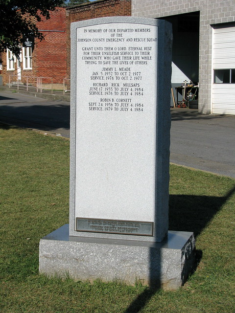 Johnson Co. Emergency & Rescue Squad Memorial