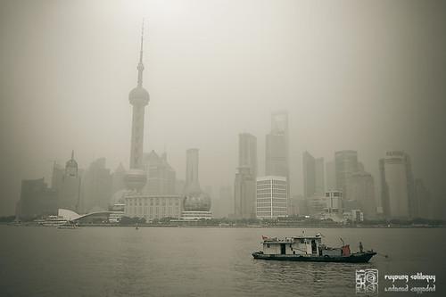 Gloomy Bund @Shanghai
