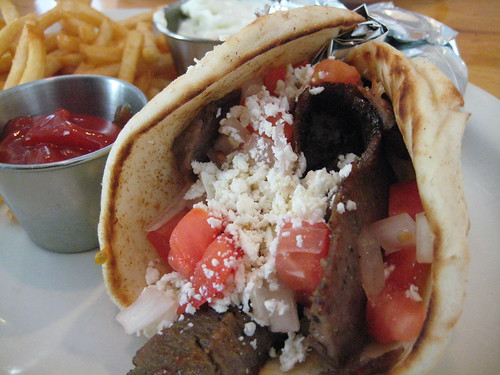 Greek Gyro at Hickory Ridge Grill