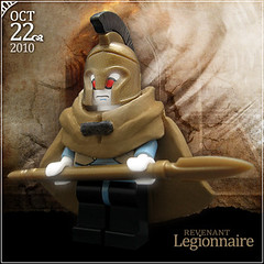October 22 - Revenant Legionnaire (Morgan190) Tags: halloween skeleton greek scary october advent calendar lego roman zombie creepy warrior undead minifig custom spartan 2010 m19 minifigure revenant legionnaire brickforge morgan19