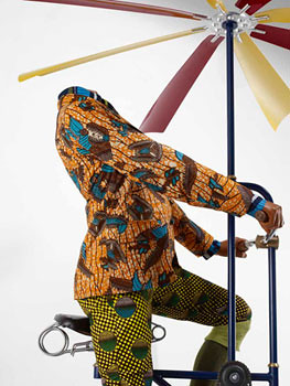 a flying maching for every man, woman and child yinka shonibare