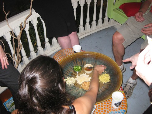 Thai poppers on the porch