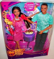 Grace  &  Darren (napudollworld) Tags: darren 1971 duo barbie style grace sis rare mattel chandra repro trichelle