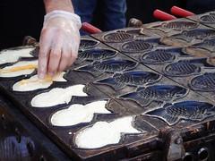 Taiyaki maker from Nijiya Market