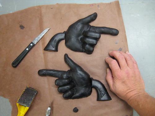 Casting Aluminum Hand Guns
