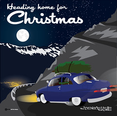 Irving Brown Heading Home for Christmas CD Cover 3-01