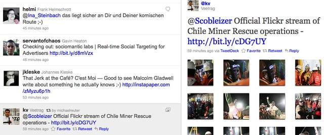 Official Flickr stream of Chile Miner Rescue operations