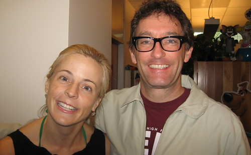 Maria Bamford and Tom Kenny